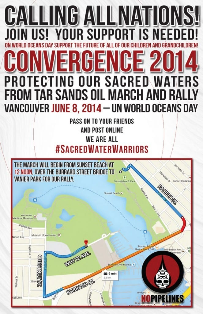 CONVERGENCE 2014: Protecting Our Sacred Waters from Tarsands Oil. #SacredWaterWarriors