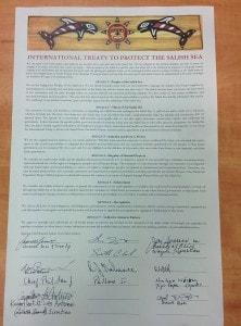 International Treaty to Protect the Salish Sea