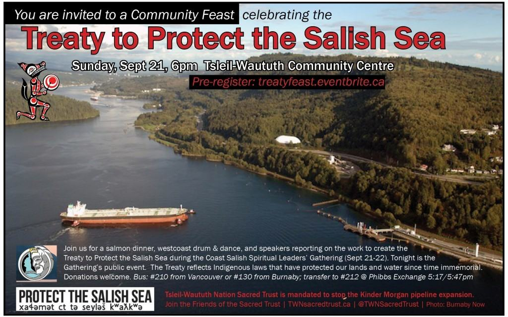 Treaty to Protect the Salish Sea