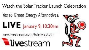 Solar Tracker livestream