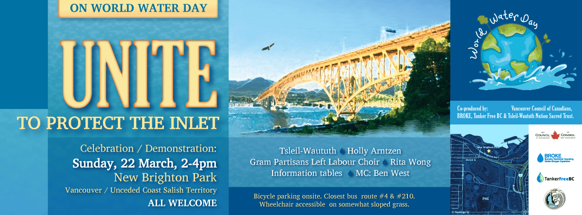 Unite to Protect the Inlet on March 22