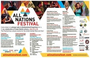 Click on this image to view a full schedule of events for the All Nations Festival